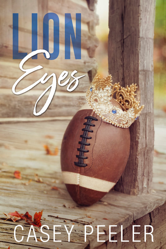 image of Lion Eyes by Casey Peeler, American Football Sports Romance