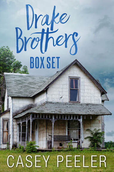 image of Drake Brothers Box Set, short story, kindle unlimited, amazon, kindle, Casey Peeler, Drake
