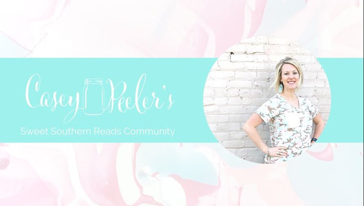 Sweet Southern Reads Facebook Group for Casey Peeler Link and Image